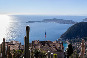 Eze and its exotic garden