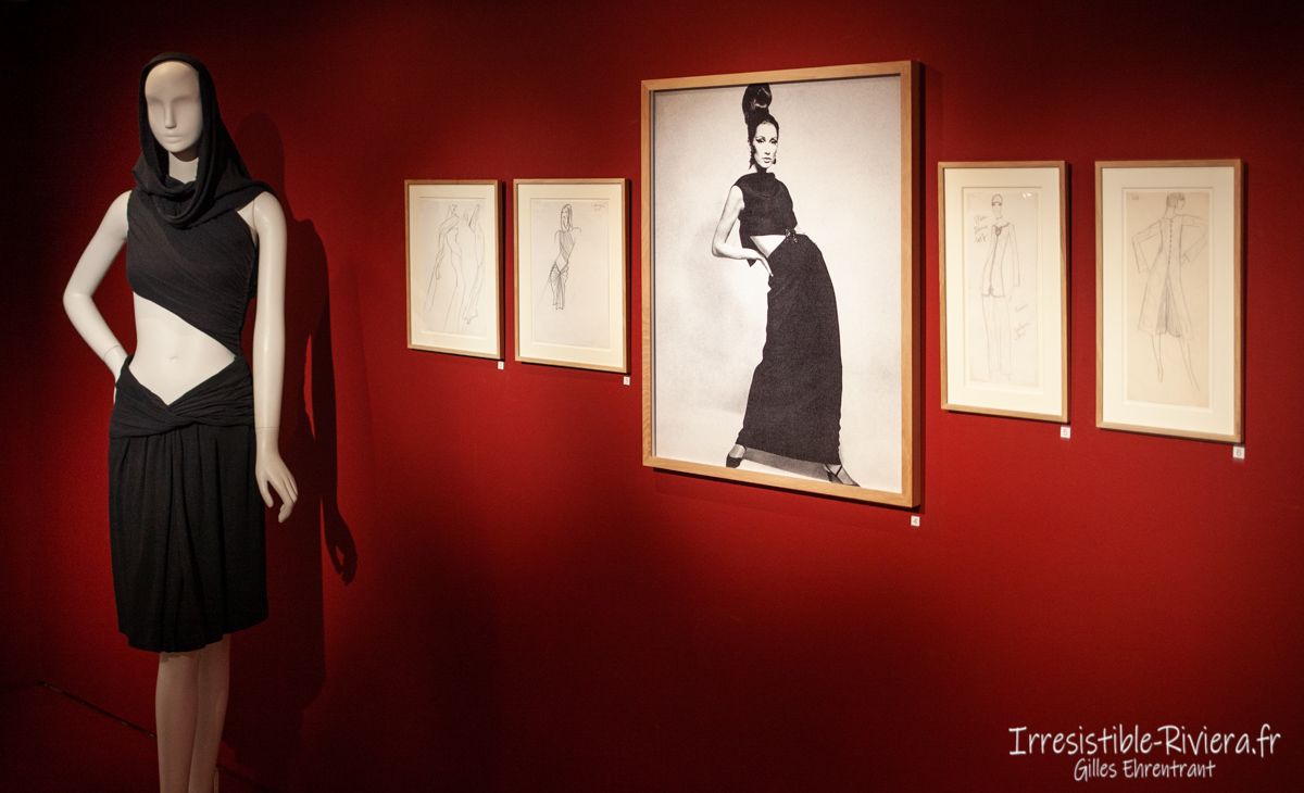 Exposition Yves Saint Laurent Nice 4