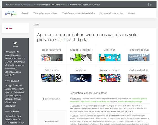 Ovap.net Agence communication digitale